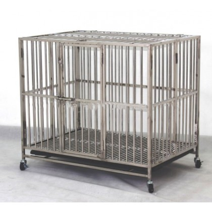 "Stainless Steel Cage 28.5"" x 21"" x 27""H [9311]"
