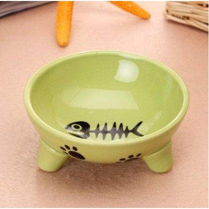 Ceramic Bowl with Stand (BO-048)