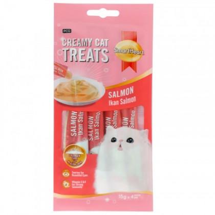 Smart Heart Creamy Cat Treat - Salmon 60g