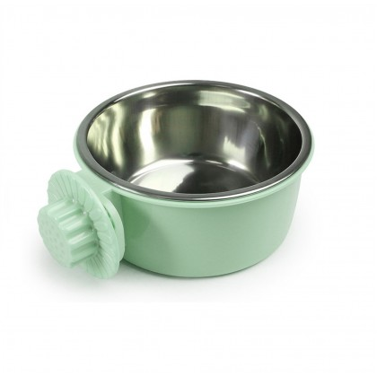 2 in 1 Stainless Steel Hanging Bowl Round/Large 13.5cm x 6cm [136614]