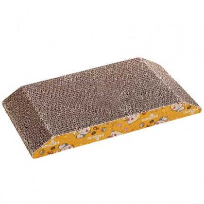 Trapezoidal Corrugated Cat Scratcher 36 x 19.5 x 3.5cm [043317]