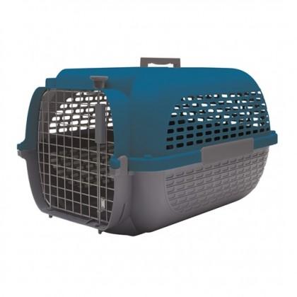 Dog It Pet Voyageur #200 Blue/Grey M 56.5L x 37.6W x 30.8H cm [76610]