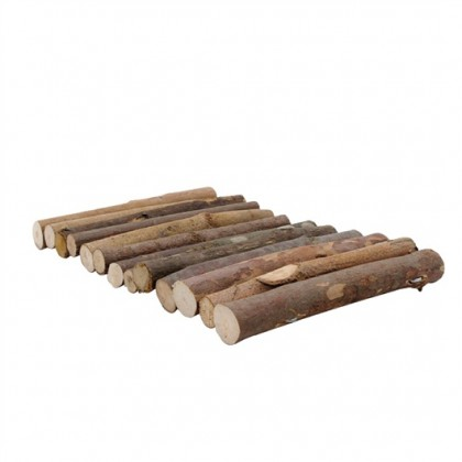Living World Treehouse Real Wood Logs Medium [61407]
