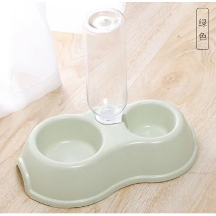 Double Round Bowl with Drinking port 28.5cmL x 17.5cmW x 6.5cmH [122212]
