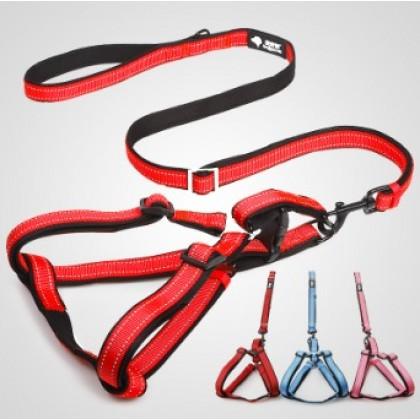 Tao Tao Pets Lycra Adjustable Harness Leash Set 2.5 [188817]