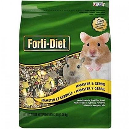 Kaytee Forti-Diet Hamster/Gerbil 3lbs 1.36kg [KT032188/322308]