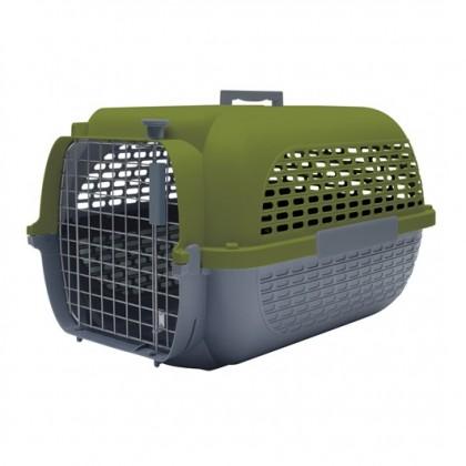 Dog It Pet Voyageur #300 Green/Grey Large (61.9L x 42.6W x 36.9H cm) [76621]