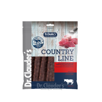 Dr Clauder's Country Line Snack Beef 170g (422239)